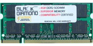 Click to buy 4GB Memory RAM for Asus V Series V2s 200pin PC2-5300 667MHz DDR2 SO-DIMM Black Diamond Memory Module Upgrade - From only $85.96