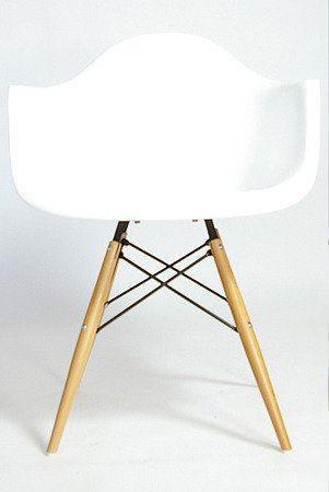 Charles & Ray Eames Style Style DAW Eiffel Dining Lounge Chair (White)