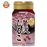 ポッカ 【HOT用】贅沢しるこ 170gボトル缶×30本入