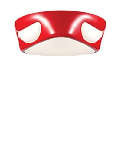 Light Design plafondlamp Alvis rood