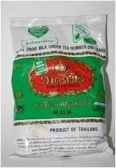 The Original Thai Iced Tea Green Mix ~ Number One Brand Imported From Thailand! 400G Bag Great For Restaurants That Want To Serve Authentic And High Quality Thai Iced Teas.