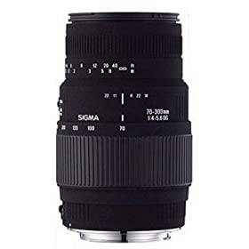 Sigma 70-300mm f/4-5.6 DL-M