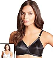 2 Pack Classic Non-Wired Crossover A-E Bras