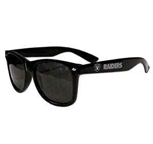 Oakland Raiders Sunglasses - Wayfarers by Hall of Fame Memorabilia