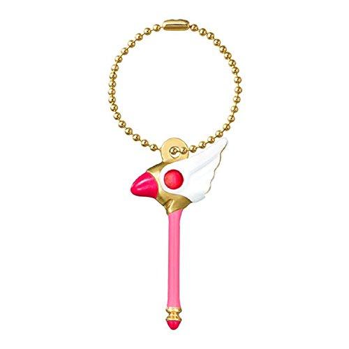 CardCaptor Sakura Die-cast Charm~Sealing Wand~KeyChain Figure Swing - 1