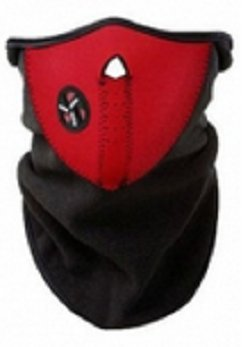 Red Universal Motorcycle Neck Warm Face Mask / Against Pollution Wear Headgear Neck Warmer Cycling Goggles Bandana Balaclava Half Ski Skiing Winter Store Shop Item Stuff Protective Cheap Unique Mouth Full Motorbike Vespa Scooter Riding Biker Rider Fahsionable Fashion Facial Anti Dust Wind Head Wear Hat Scarf Face Cap Cover Cool Helmet Clothing Apparel Clothes Face Black Accessories Gear Part Tool Stuff Supplies Gadgets Bike Air