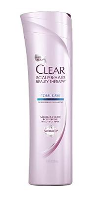 CLEAR SCALP & HAIR BEAUTY Total Care Nourishing Shampoo, 12.9 Fluid Ounce