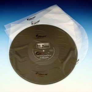 "50 Anti Static Round Bottom 12"" LP Record Album Inner Sleeves HDPE 37.5 Micron"