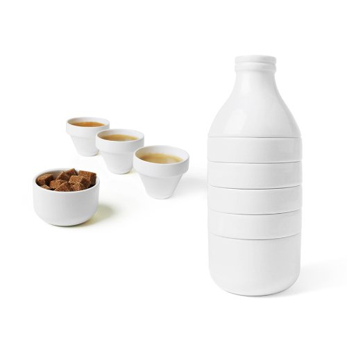 Doiy DYWITHMWH Ustensile de Cuisine WithMilk Porcelaine