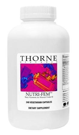 Thorne Nutri-Fem, 240 Vegetarian Capsules (Ffp)