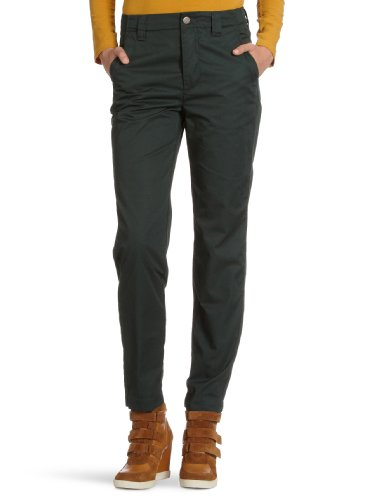 Selected - Pantaloni chino, donna, Verde (Grün (CAPERS)), XS