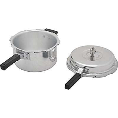 SONA Aluminum Outer Lid Pressure Cooker, 12 years warranty, ISI mark, 6.5 Liter