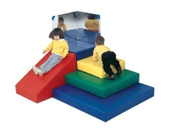Childrens Factory CF300-007 Toddler Pyramid Play Center