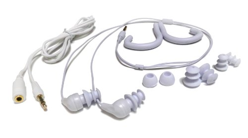 Buyee 3.5mm Waterproof Earphone Headphone for Ipod Mp3 Mp4 Player Swimming