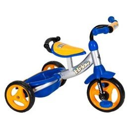 Huffy Hi-Low Trike Tricycle - Blue/ Grey