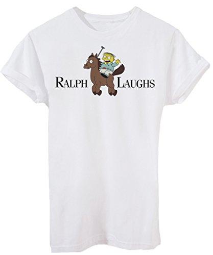T-Shirt MI CHIAMO RALPH POLO- STREET AND SOCIAL - by iMage - Uomo-S-Bianca