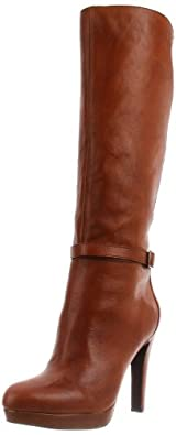 Jessica Simpson Women's Khalen Knee-High Boot,Whiskey Western,6.5 M US