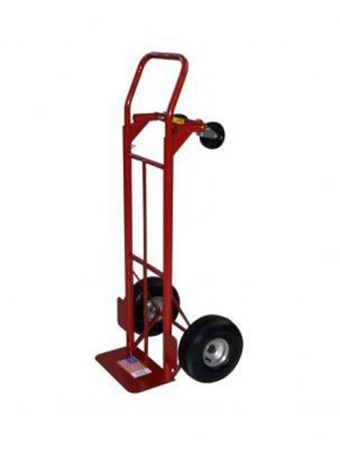 Milwaukee Red 800-Pound Capacity Convertible Hand Truck