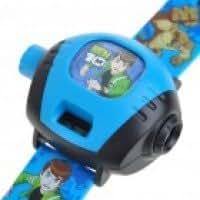 Kids Projector Digital Wrist Watch - Random Style (4xLR41)