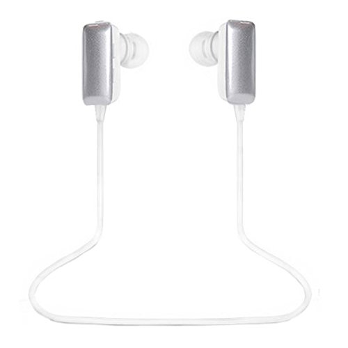 Best_Express Mini Lightweight Wireless Stereo Sports/Running & Gym/Exercise Bluetooth Earbuds Headphones Headsets W/Microphone For Iphone 5S 5C 4S 4, Ipad 2 3 4 New Ipad, Ipod, Android, Samsung Galaxy, Smart Phones Bluetooth Devices (Gray)