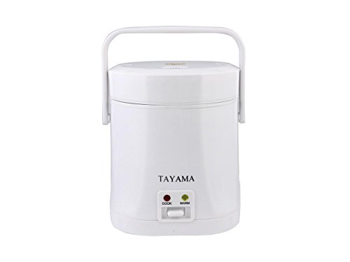 Tayama TMRC-03 1.5 Cup Portable Mini Rice Cooker, White (Mini Small Rice Cooker compare prices)