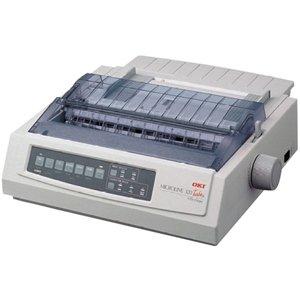 Oki Microline 321 Turbo Dot Matrix Printer. Ml321 Turbo 9Pin Wide 435Cps Par Usb 120V Epson Ibm Ml Win Unix Dot. 9-Pin - 435 Cps Mono - 288 X 144 Dpi - Parallel, Usb
