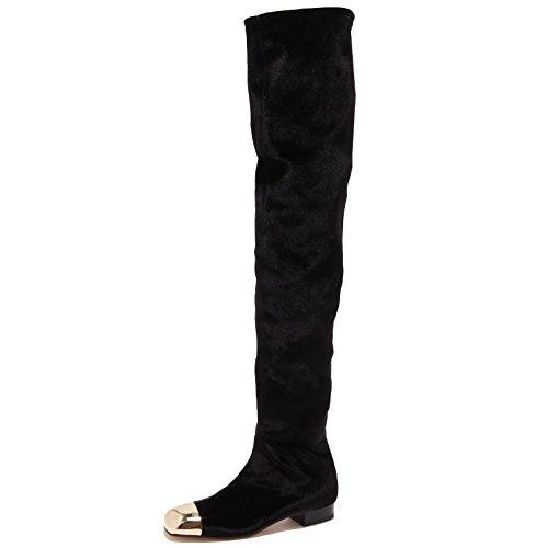 83378 stivale velvet ELISABETTA FRANCHI strech donna boots shoes women [37]
