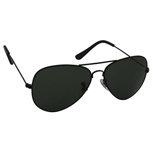 Raylite Aviator Sunglasses (Black-Grey)(Aviator-Black-Grey)