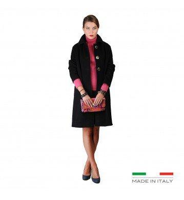 Fontana 2.0 NICOLE Donna Cappotto Women Nero 44