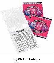 Bunco Score Sheets - 3 Tablets