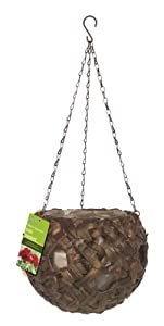 Gardman 9-inch Water Hyacinth Ball Basket with Holes