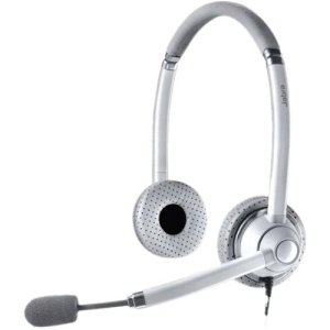 Jabra Uc Voice 750 Duo (Dark) Corded Headset For Softphone