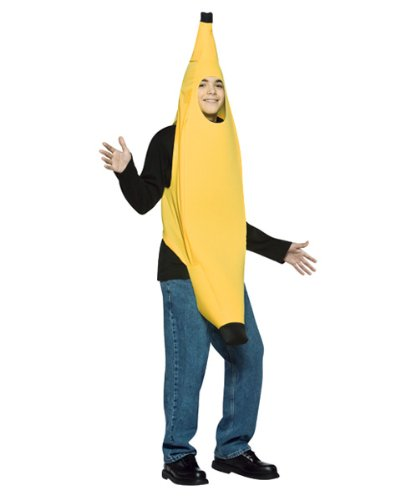 Rasta Imposta 181089 Banana Teen Costume - Yellow - Teen - 13-16