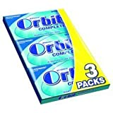 Wrigley's Orbit Complete Peppermint 3 X 14 Tablet Pack