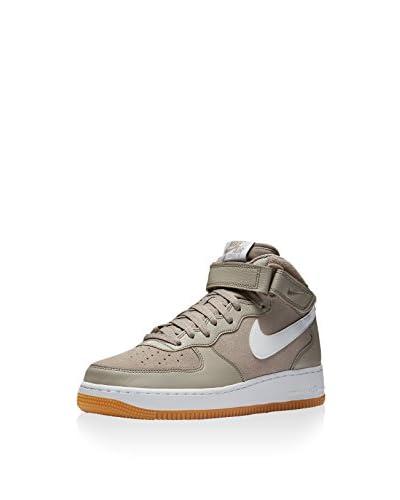 Nike Zapatillas abotinadas Air Force 1 Mid '07 Gris