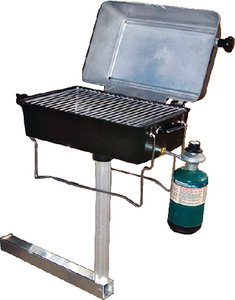 Springfield 1940057 Grill-Alum Lpg W/Hitch Mount Made by Springfield (Trailer Grill compare prices)
