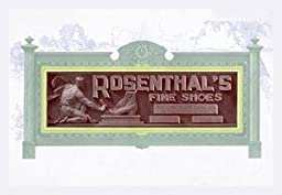 30 x 20 Stretched Canvas Poster Rosenthal\'s Fine Shoes