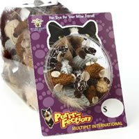 Multi Pet Cat Can Yarn Mouse 75 Pieces
