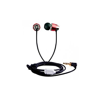 Dunu DN-16 Metal Full Range Noise-Isolation Earphones, Earbuds: Modern Looking/Sounding Headphones with Patented Power Bass Technology