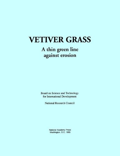 Vetiver Grass:: A Thin Green Line Against Erosion