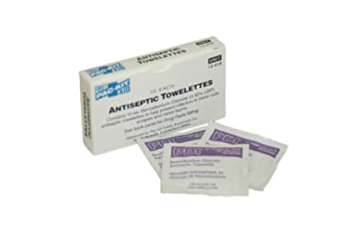 Pac-Kit 12-018 Benzalkonium Chloride Antiseptic Towelette (Box of 10) from Acme United