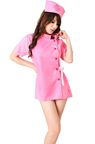 OMG Women's Sexy Lingerie Naughty Role Play Nurse Costume Valentine Gift