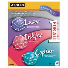 APOUF1000 TRANSFILM,MULTI-FUNCTION,50/BX - Buy APOUF1000 TRANSFILM,MULTI-FUNCTION,50/BX - Purchase APOUF1000 TRANSFILM,MULTI-FUNCTION,50/BX (Apollo, Office Products, Categories, Office & School Supplies, Presentation Supplies, Transparency Film)