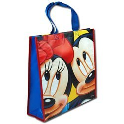 Disney Mickey & Minnie Mouse Large Sized Non Woven Tote Bag - 1