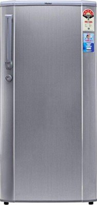 Haier HRD-1905CS-H Direct-cool Single-door Refrigerator (170 Ltrs, 4 Star Rating, Hairline Silver)