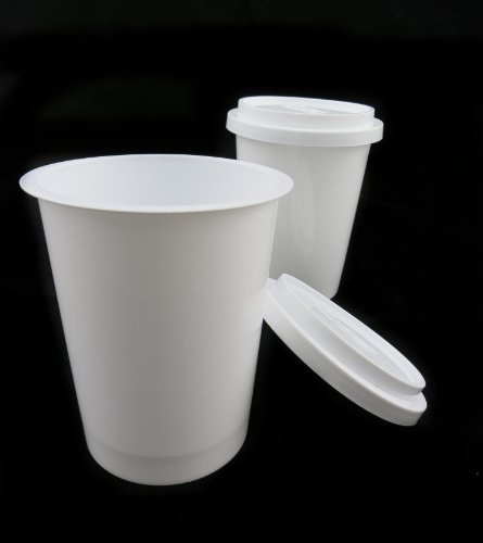 Like2013® Microwavable 12Oz Disposable Containers (16/Set) Store Coke Coco Soup Fruit Juice Coffee Tea Cup