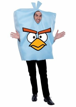 Paper Magic 216692 Rovio Angry Birds Space Ice Bird Adult Costume Ice Blue One-Size