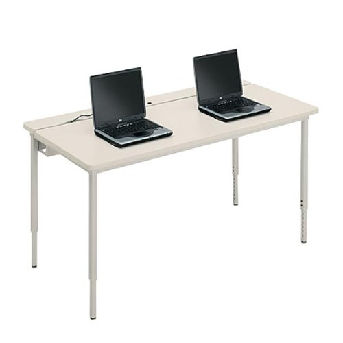 Buy Low Price Comfortable 72″ x 30″ Adjustable Height Computer Table (B0033Y96GY)