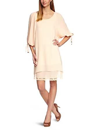 Fornarina - Robe - Manches 3/4 Femme - Rose (Rosewater 29) - FR : 42 (Taille fabricant : L)