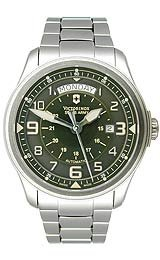Victorinox Swiss Army Infantry Vintage Automatic Olive Dial Men's Watch #241374